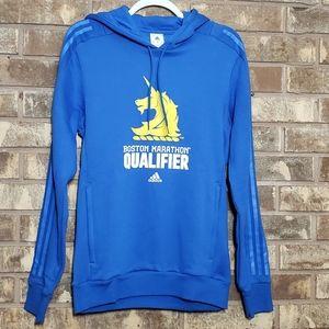 Adidas Mens Boston Marathon Qualifier Hoodie Small